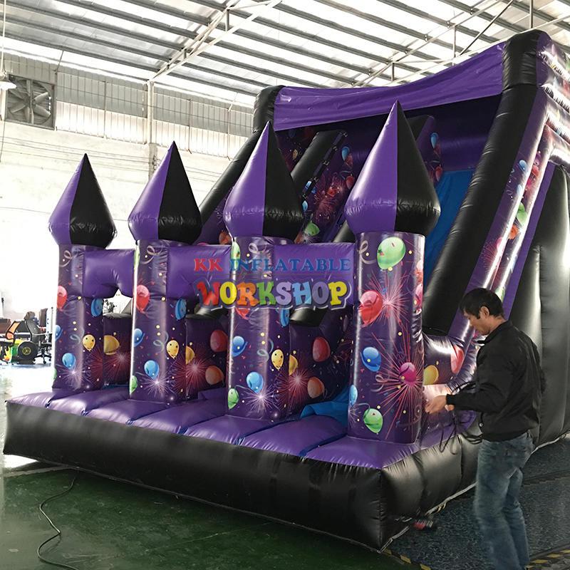 inflatable bouncer combo  slide