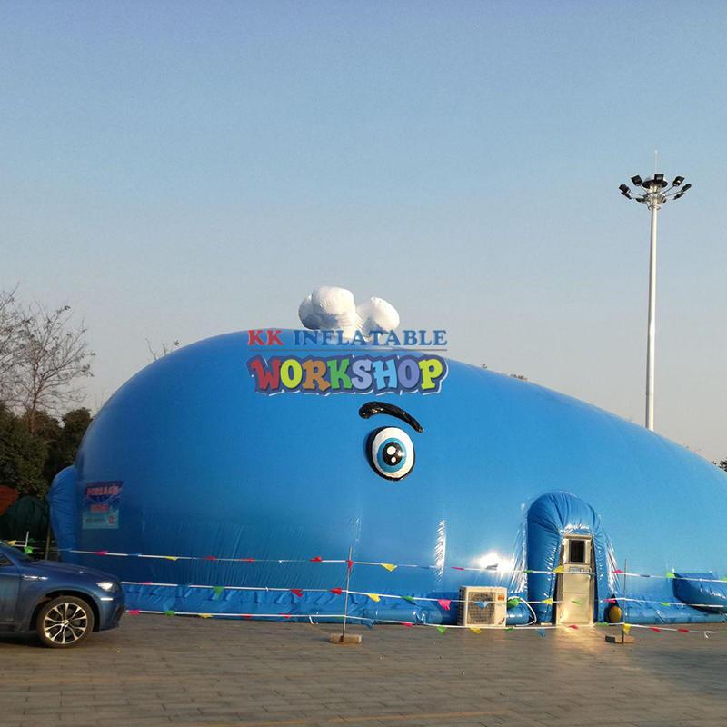 PVC giant inflatable tent park