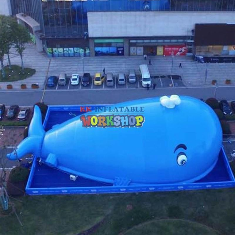 large slide pool indoor inflatables supplier for amusement park KK INFLATABLE