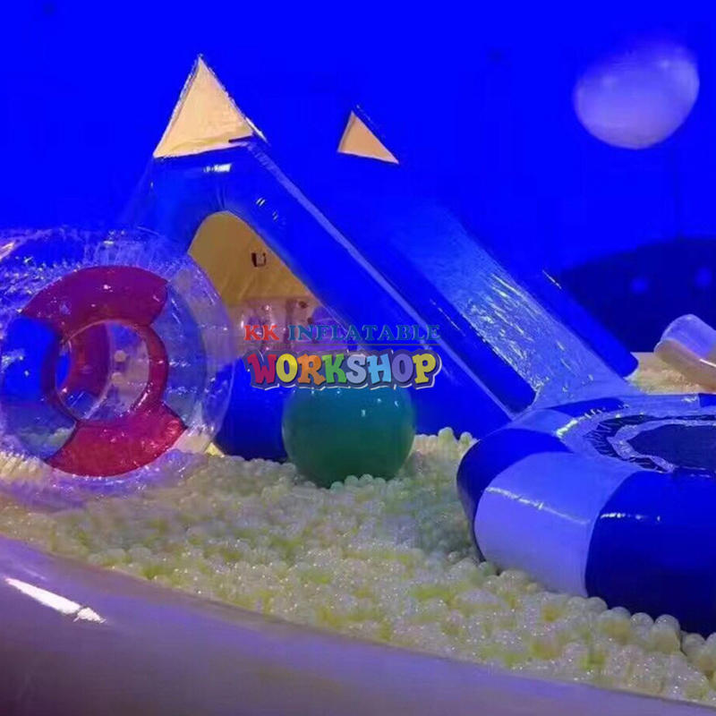 PVC transparent good show igloo for children park
