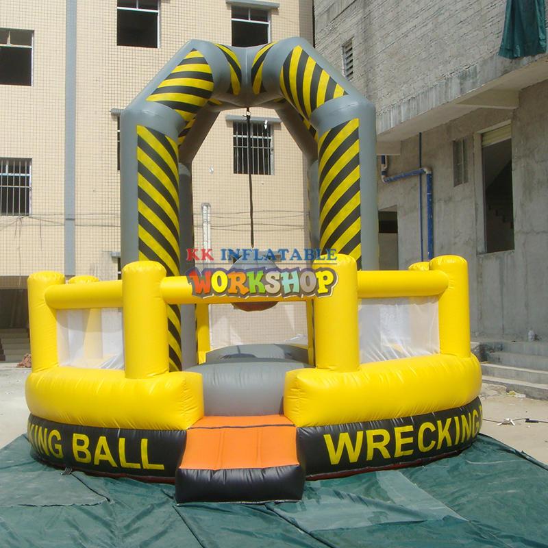 inflatable wracking ball