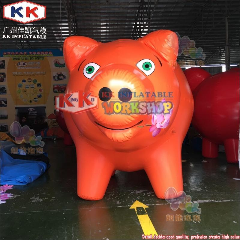 Inflatable Pig For Outdoor