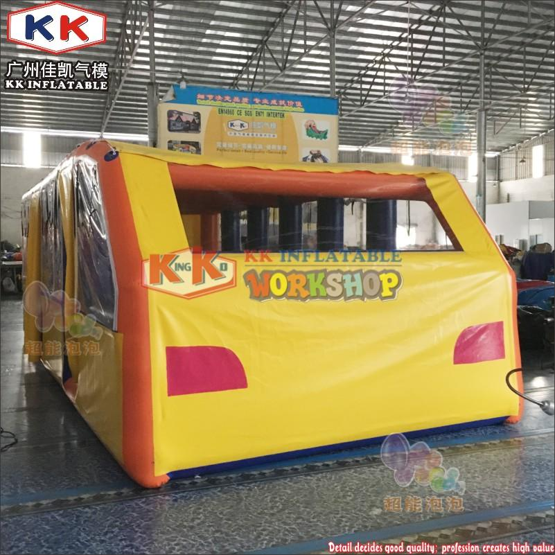 inflatable bus model