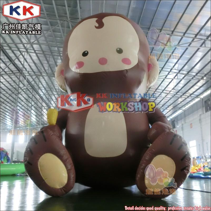 inflatable monkey cartoon model