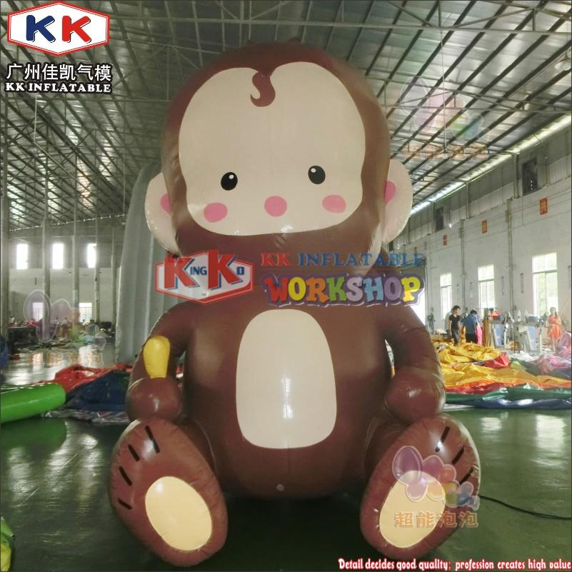inflatable monkey cartoon model