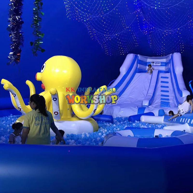Inflatable bouncer slides castles