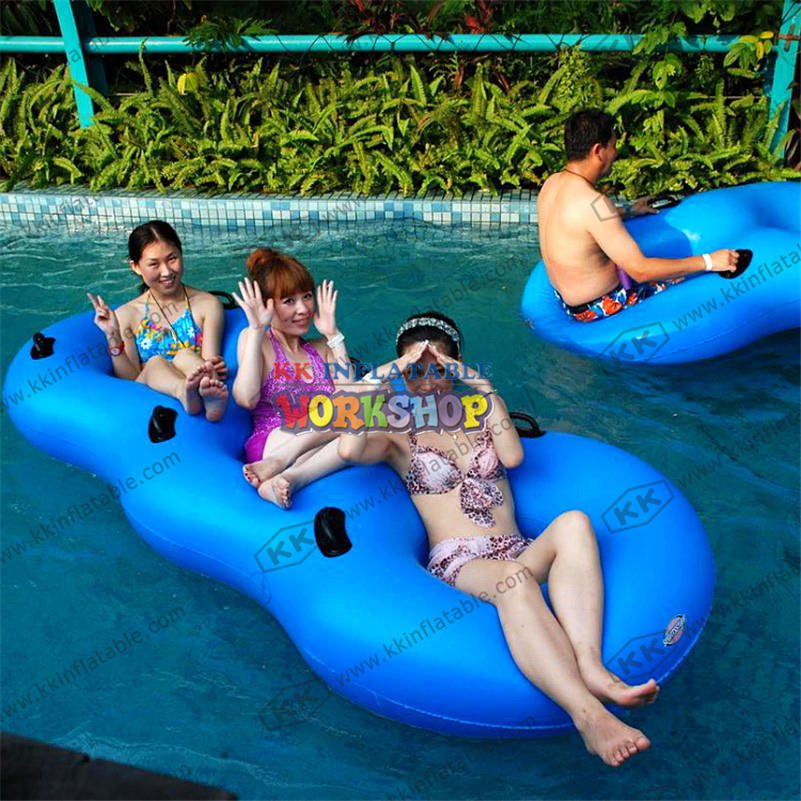 Inflatable Floating Row Bed