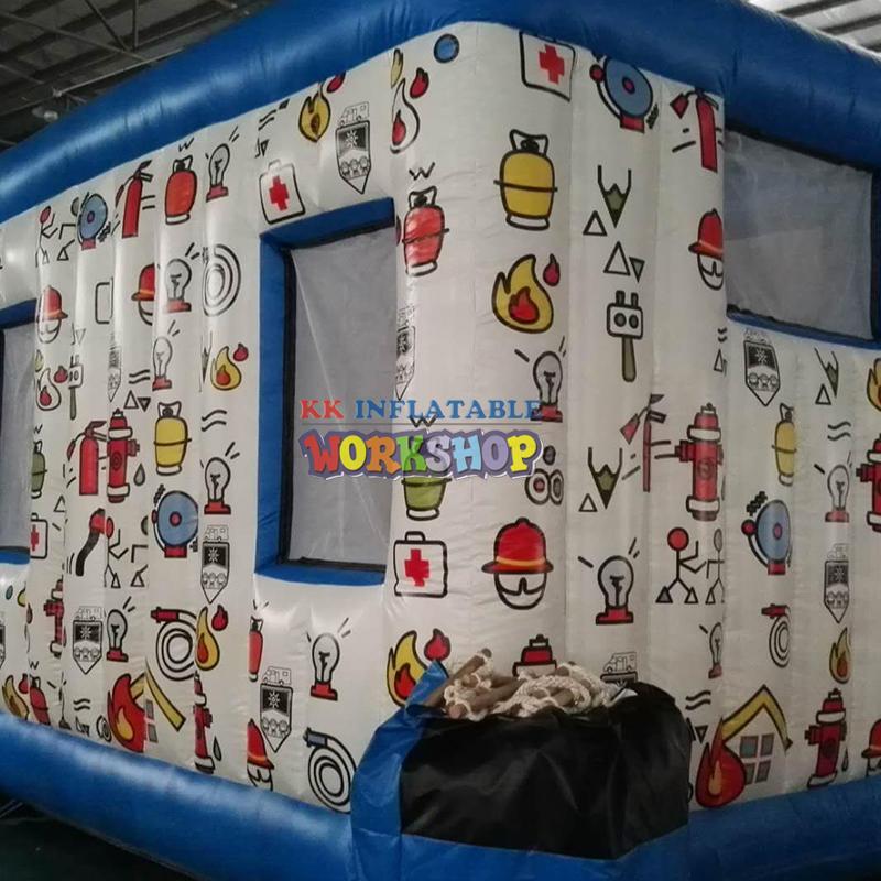 Inflatable Cartoon Bouncer Amusement park