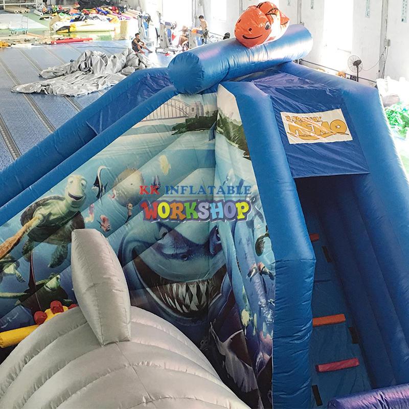 inflatable funcity  park bouncy castle