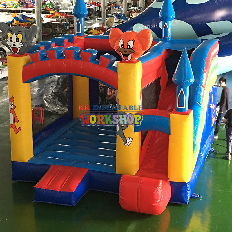 Manufacturers customize bouncer house