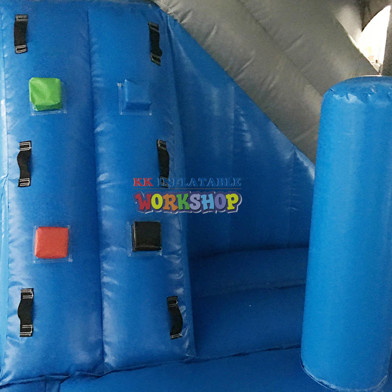 inflatable obstacle for commercial