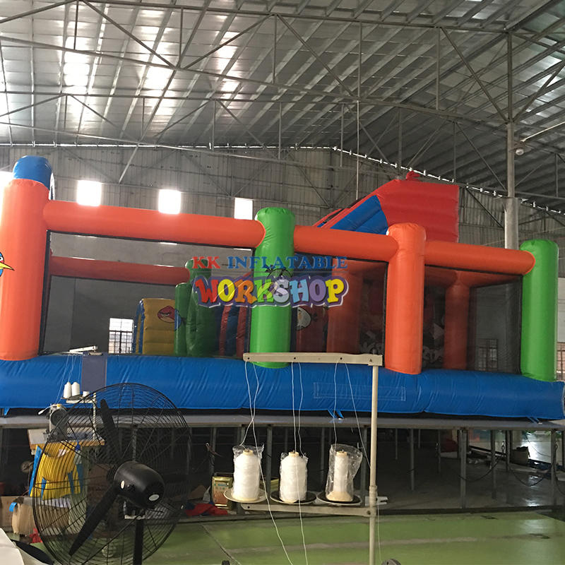 Animated cartoon inflatable jumping animal