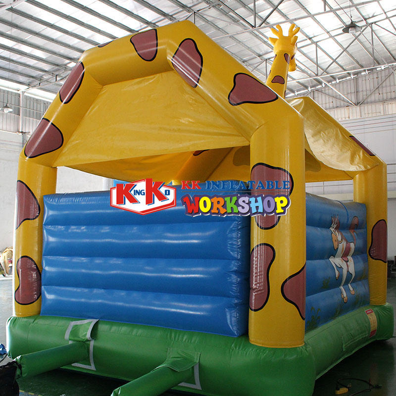 4*5M small inflatable trampoline for kids