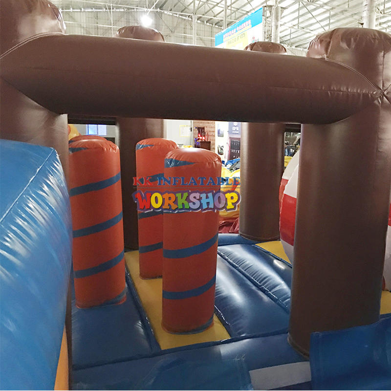 China inflatable slide combination