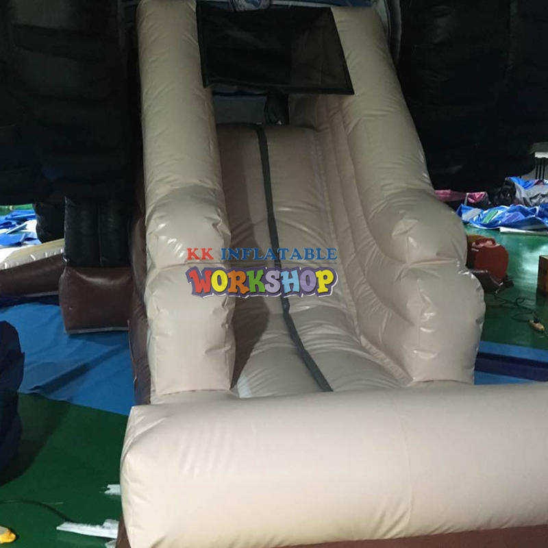 Funny Truck Inflatable Castle Combo