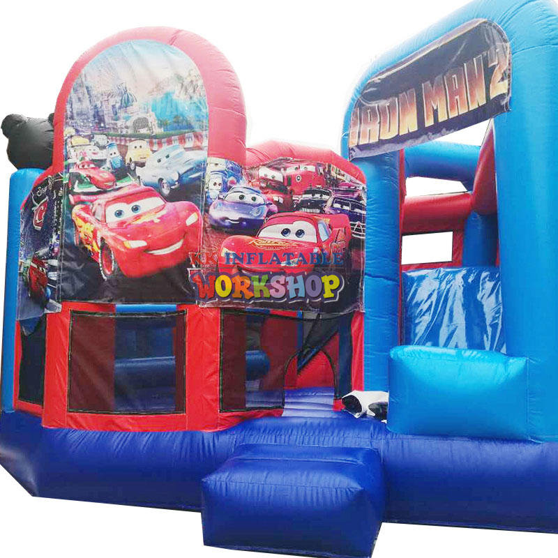 design inflatable slide combination