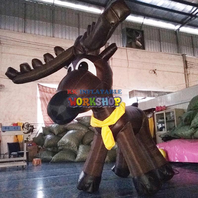 Christmas inflatable elk deek for sale