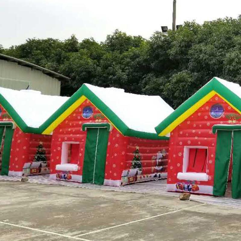 inflatable Christmas house