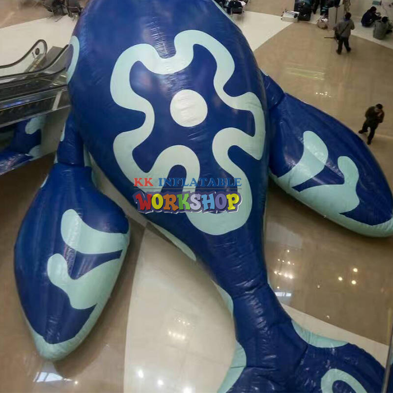 14Meters Giant Inflatable Blue Whale