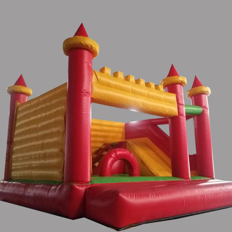 Manufacturers sell inflatable slide castle combination