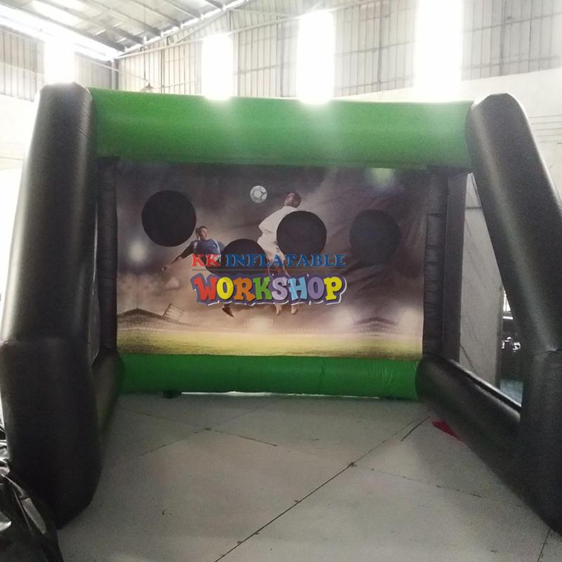 inflatable soccer kick target