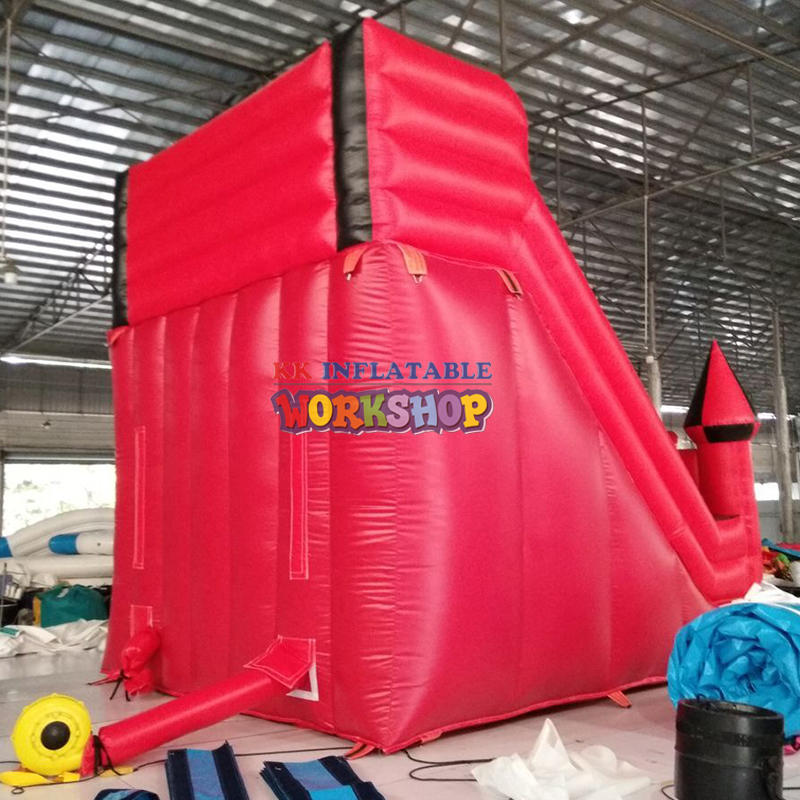 tarpaulin inflatable bouncers with slide