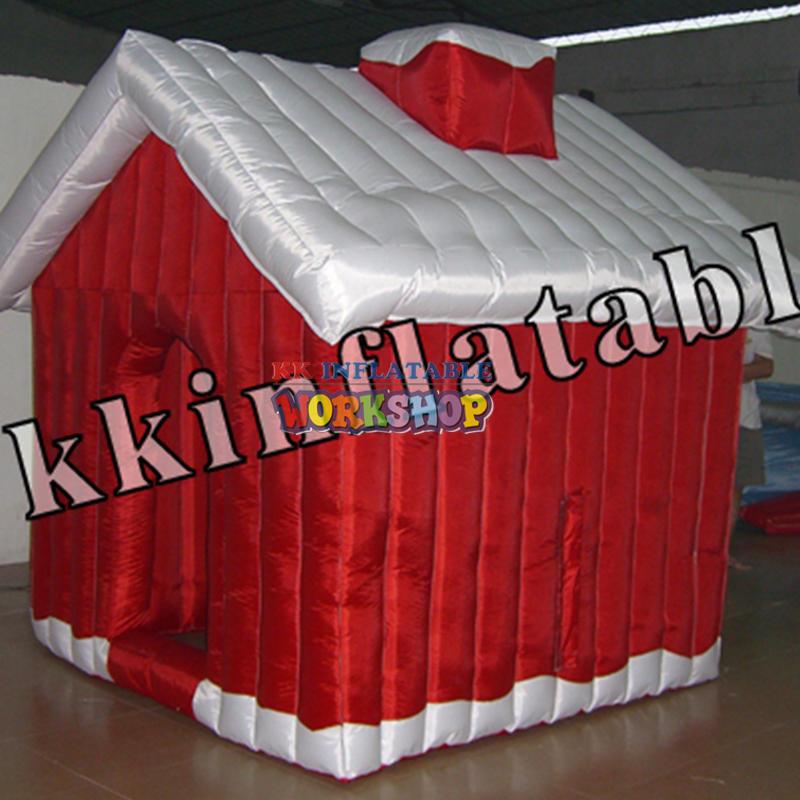 inflatableChristmashouse