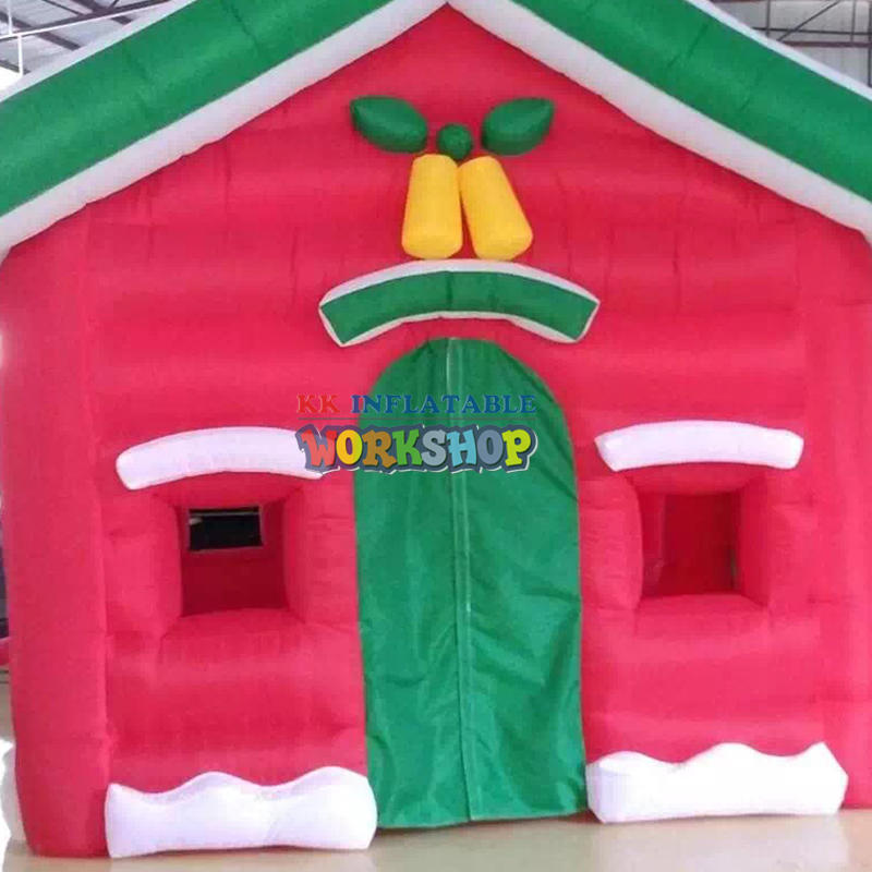 Toy house inflatable Christmas house
