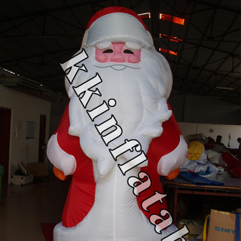 giant inflatable Santa Claus