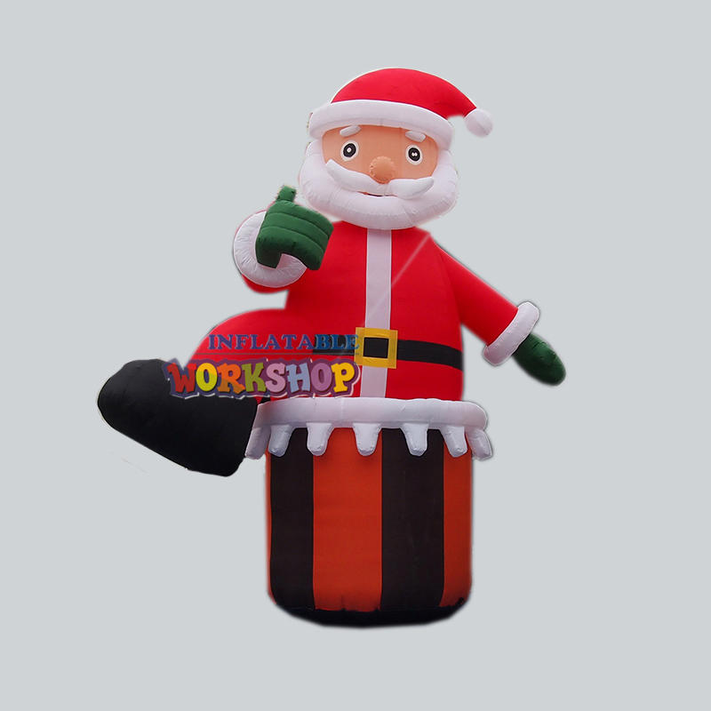 giant inflatable Santa Claus for Christmas
