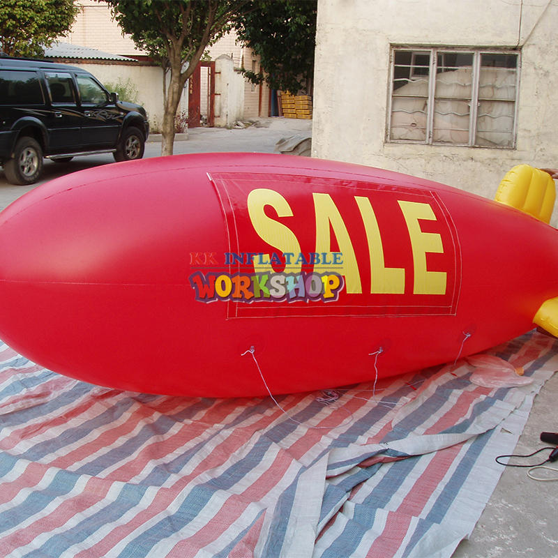 Inflatable Airship with Different Logos