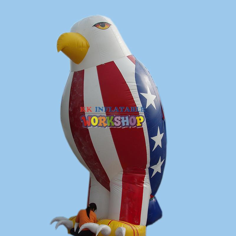 Inflatable Eagle Patriotic Advertisement