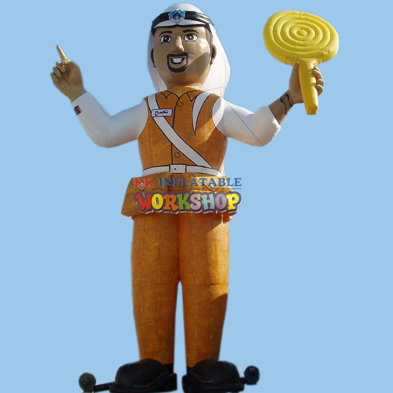 Inflatable character model