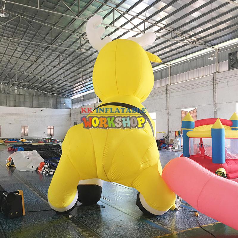inflatable deer inflatable elk