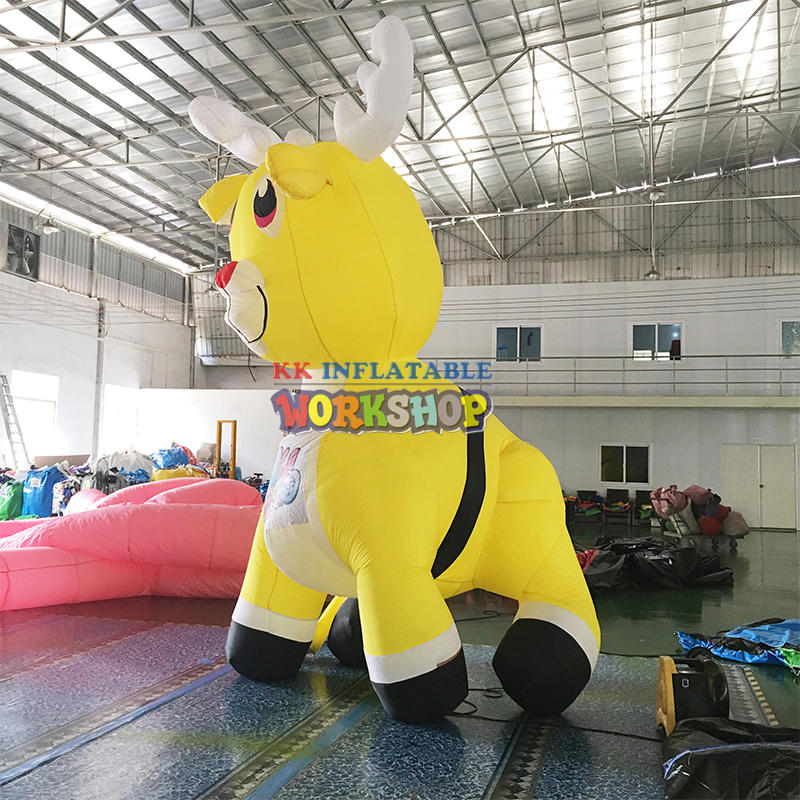 Giant Inflatable animal carton advertising customize