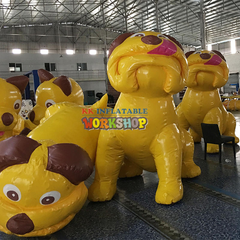 Lovely  giant inflatable dog