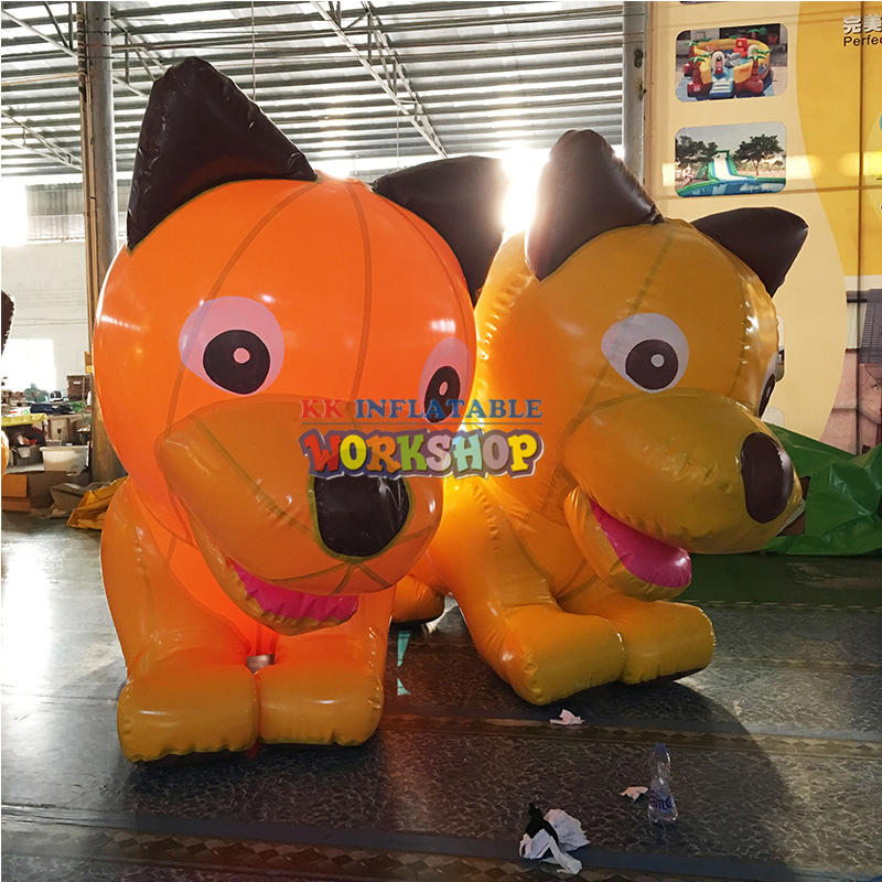 giant inflatable dog for outdoor advertising