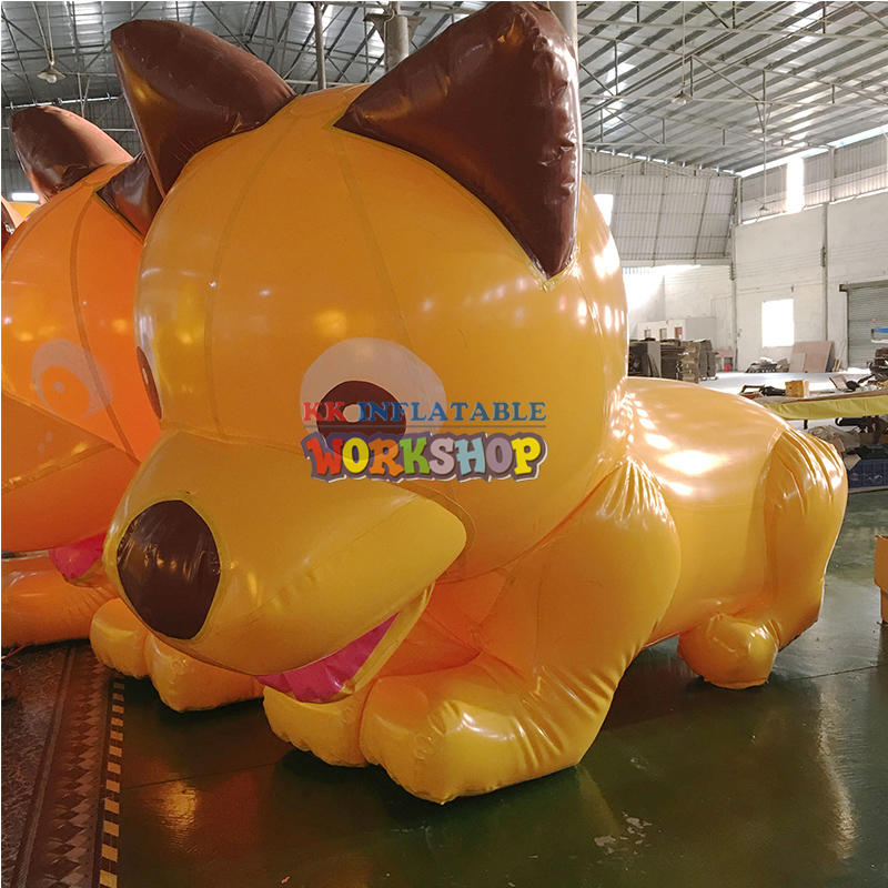inflatable cartoon animal model inflatable dog