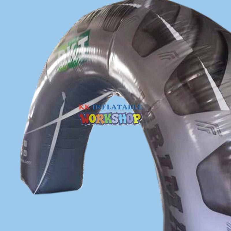 tire shaped inflatable advertising arches