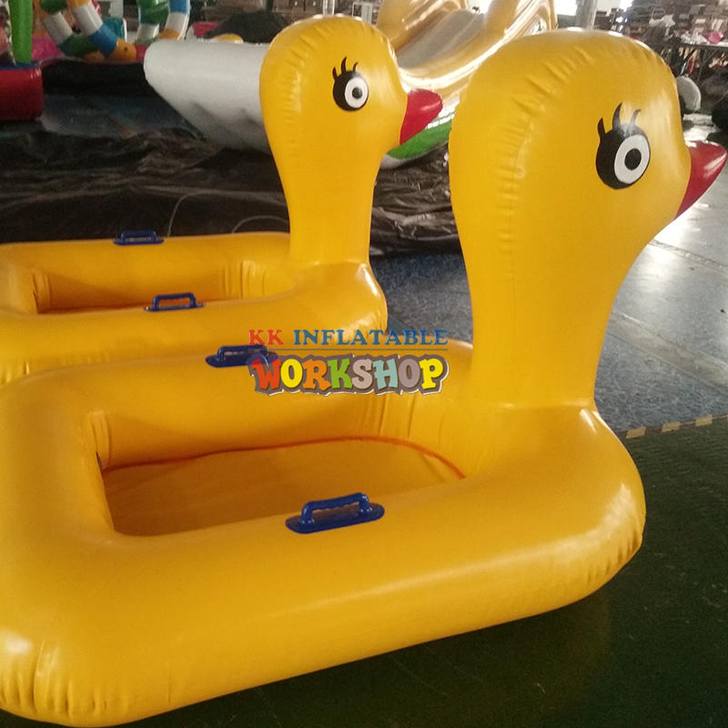 Inflatable Boat Rubber Duck Swimming Float