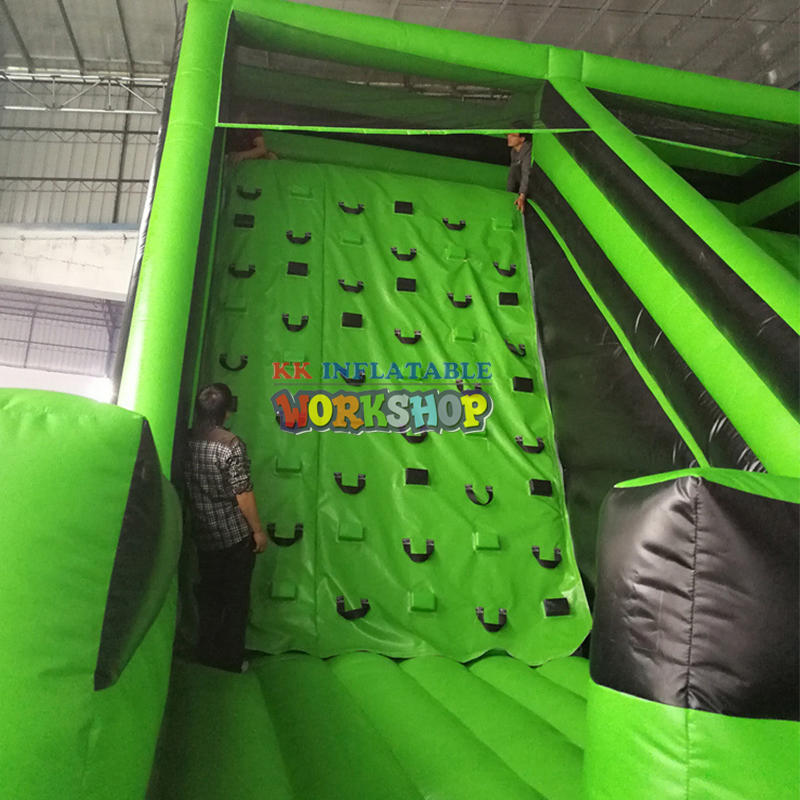 Large inflatable magic sticky wall