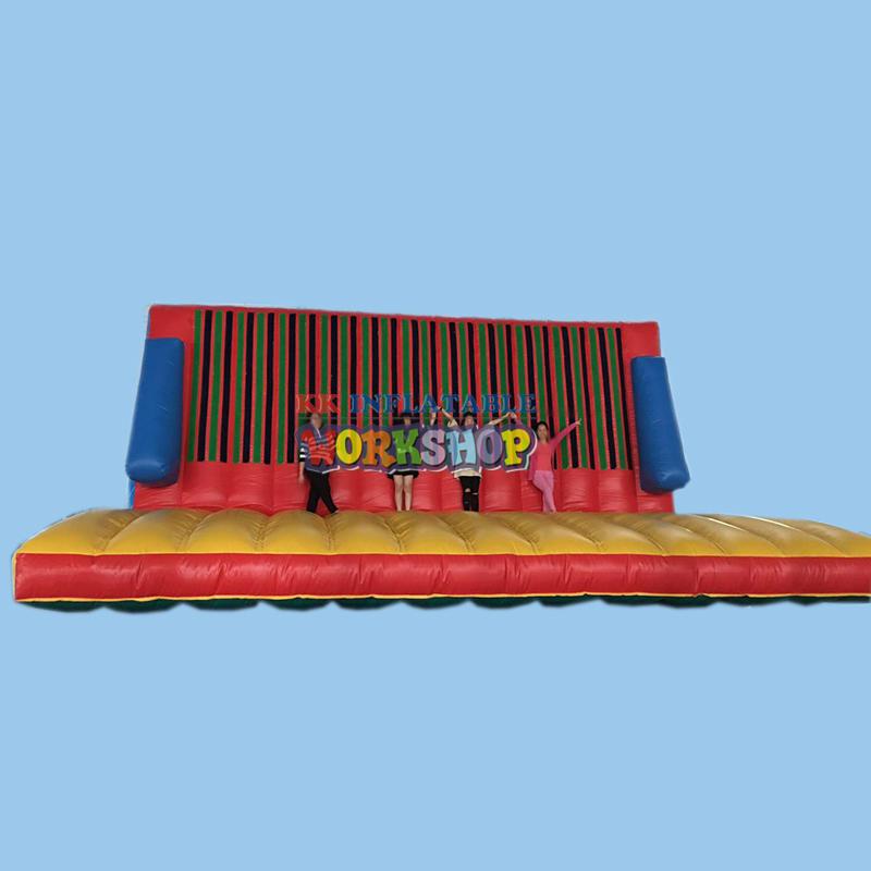 Inflatable magic jump wall
