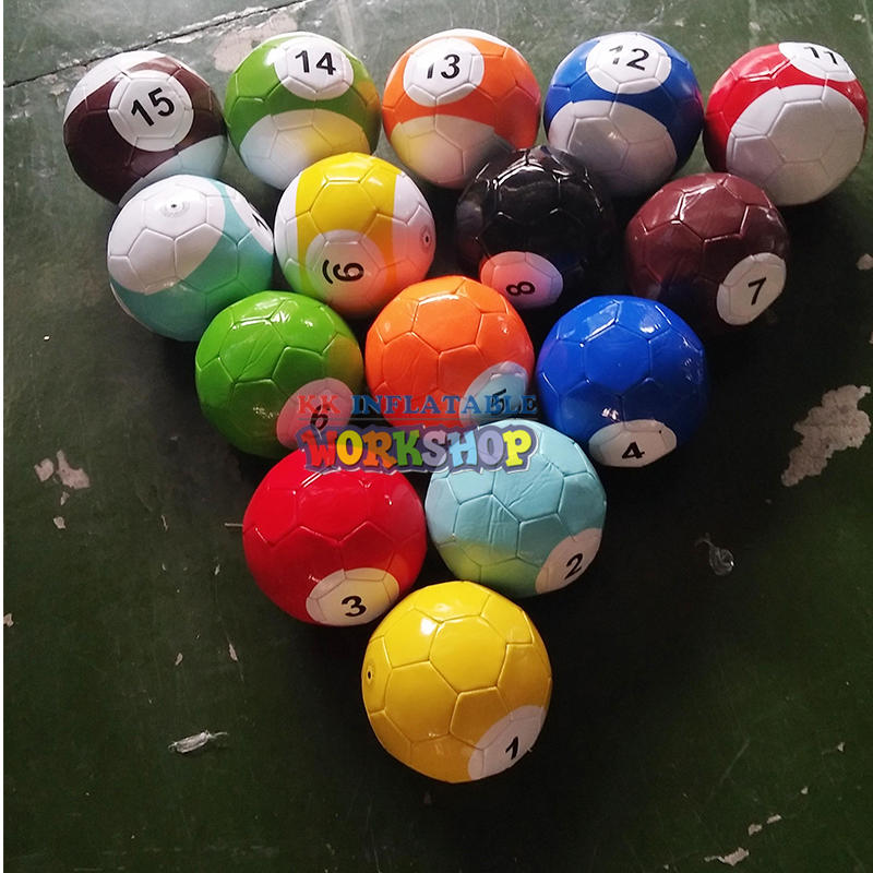 inflatable snooker pool table soccer