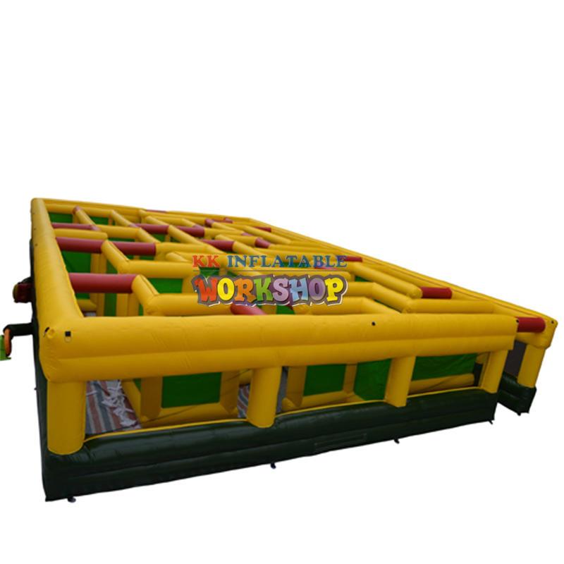 Custom make big inflatable maze game