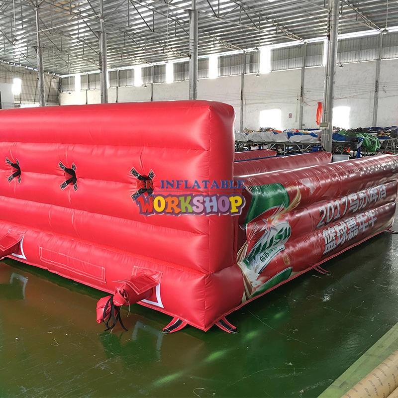 custom fun inflatable track game sports