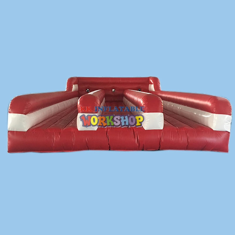 inflatable track game sports with logo