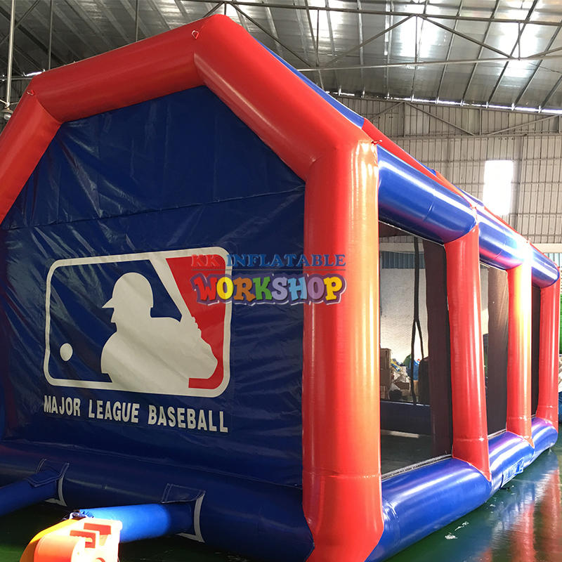 Seald type inflatable batting cage wholesale netting