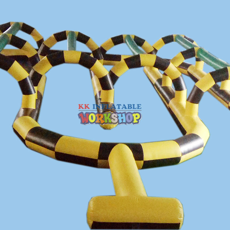 cheap inflatable car track