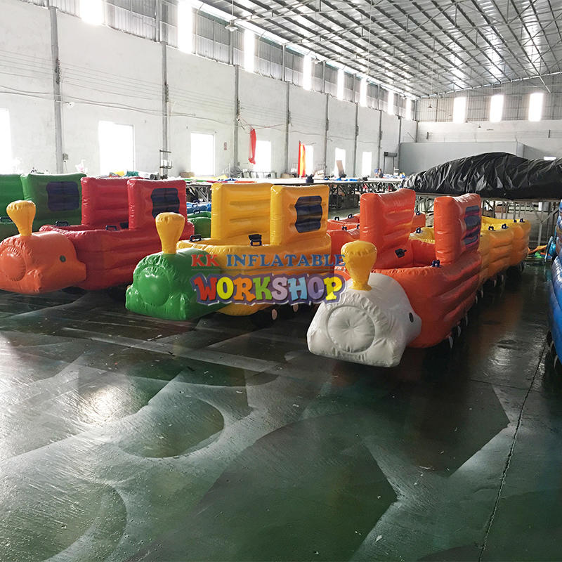 Various inflatable creative toys