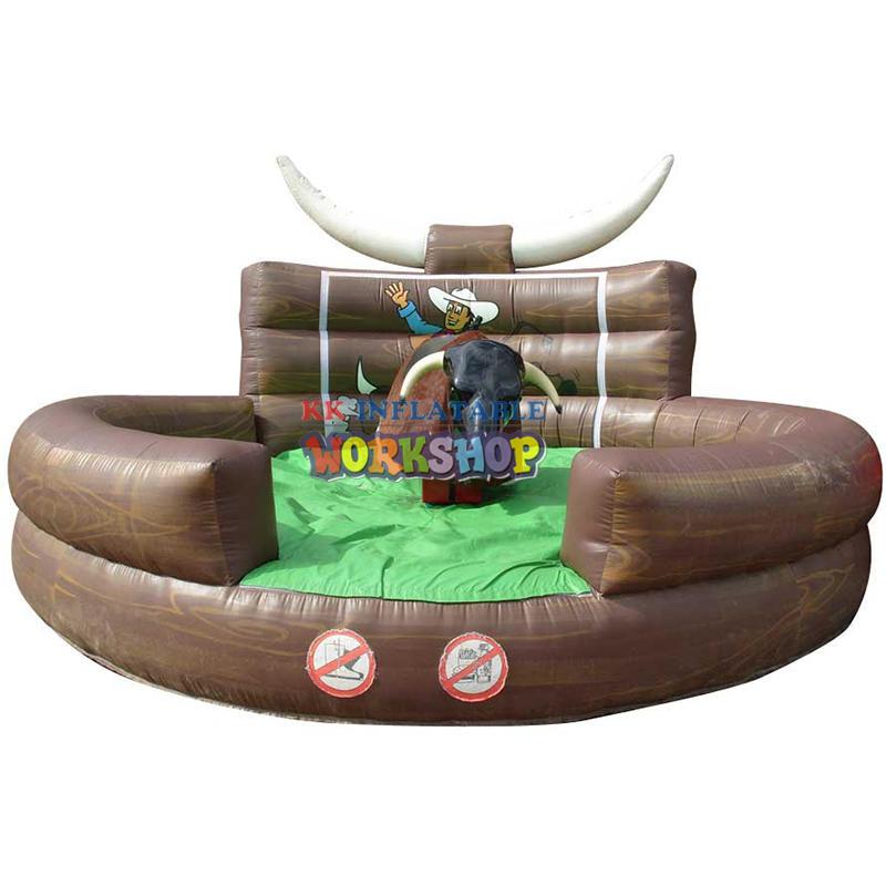 inflatable mechanical bull mattress games